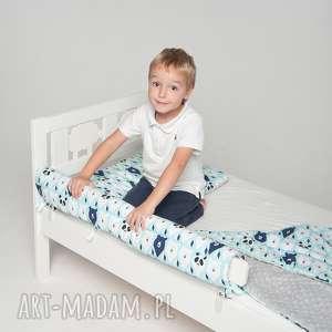 Ochraniacz do łóżeczka/łóżka IKEA - miętowe misie, ikea, ochraniacz, łóżko, poście