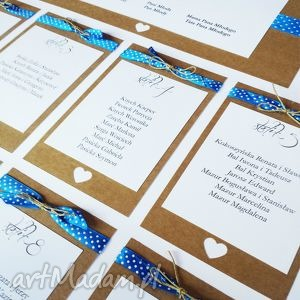 Plakat z rozmieszczeniem gości ślub dekoratorka slubna plakat