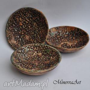 Mini miseczki zestaw ii ceramika minervaart patera, miska