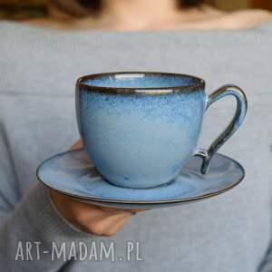 ceramika filiżanka ceramiczna morska 270 ml, filiżanka, na kawę