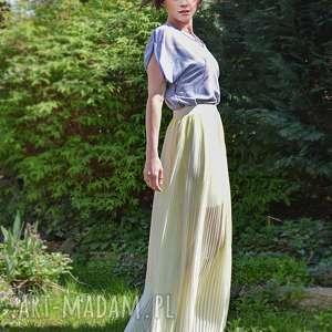 Ye-lo spódnica plisowana spódnice anna bartula maxi, plisowana