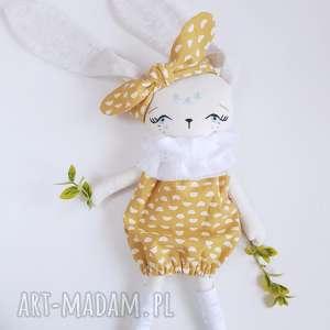 pod choinkę prezent, lalka królik iga, lalka, królik, zajączek, eko, przytulanka