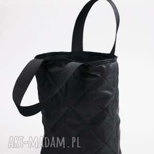hand-made lunchbag coco black