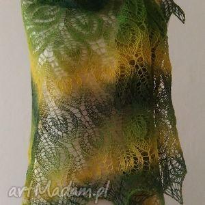 handmade chustki i apaszki estońska wełenka duża chusta