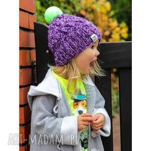 ręcznie wykonane dla dziecka czapunia brrrum mode