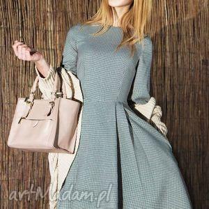 ręczne wykonanie sukienki sukienka zuza midi eliza