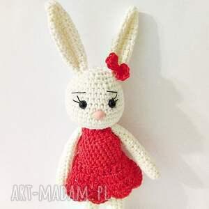 Króliczka Malwina, króliczek, maskotki, przytulanka, królik