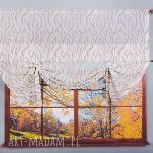wyjątkowy prezent, panel okienny etno, firana, firanka, panel, zebra, dekoracje