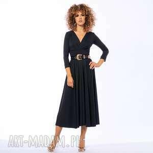 sukienki amelia black - sukienka, koktajlowa, ponadczasowa, elegancka, wyjątkowy