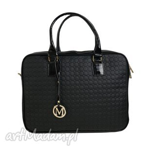 Manzana biznes styl torba na laptopa kółka manzanatorebki