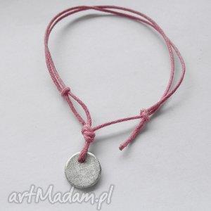 katarzyna kaminska okrąg kolczyki, srebro, sznurek biżuteria, oryginalny prezent