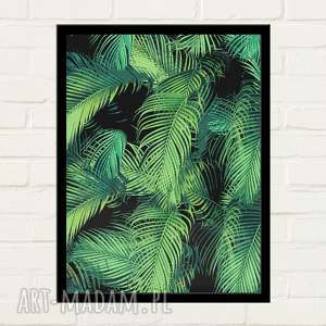 plakaty palms plakat 30x40, minimalizm, prezent na święta