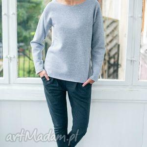 SZARE RURKI Spodnie rozm L/XL, oversize, spodnie, casual, bawełna, moda, kobieta