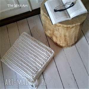 Prezent poduszka-siedzisko, puf, poduszka, sznurkowa, do-domu, ze-sznurka, prezent