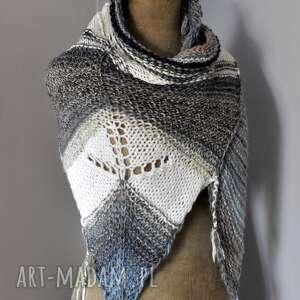handmade dodatki asymetryczna chusta