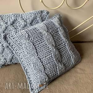 Bawełniana poszewka na poduszkę poduszki the wool art poszewki