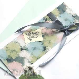 dla Ciebie :: kartka handmade, urodziny, imieniny