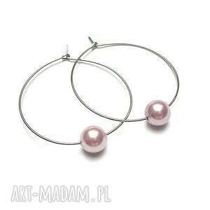 alloys collection /one pearl/powder rose, stal, szlachetna, perły, majorka, koła