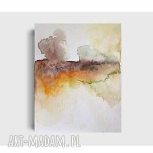 drzewa-akwarela formatu 24/32 cm, akwarela, papier, pejzaż, drzewa