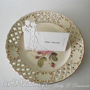 Ślub/winietki weselne dla gości/wizytówki na stół, ślub, winietki, wizytówka