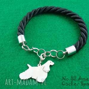 Bransoletka amerykański cocker spaniel pies nr.82, bransoletka, pies, rasy-psów
