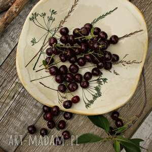 święta, talerz trawy, talerz, patera, misa na owoce, ozdobny, ceramika