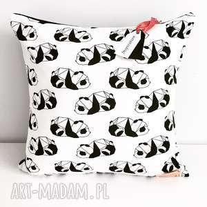 wyjątkowy prezent, poduszka dekoracyjna panda, poduszka, dekoracyjna, panda