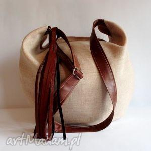 hobo, listonoszka, czerwona na ramię torebki