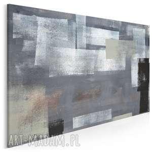 Obraz na płótnie - NOWOCZESNY SZAROŚCI 120x80 cm (79701), nowoczesny, farba