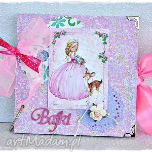 scrapbooking albumy bajecznik dla księżniczki, folder, cd, bajki