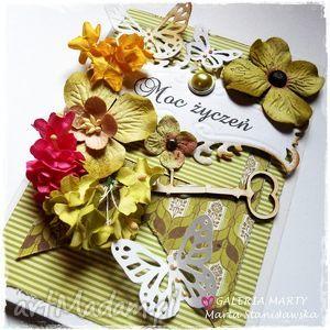 pejtoon wiosenna kartka okolicznościowa 100 handmade, kartka, urodziny, imieniny
