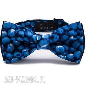 dodatki mucha blueberry, mucha, muchy, impreza, prezent, wesele, krawat