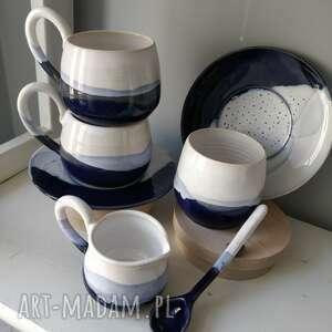 wyjątkowy prezent, zestaw ceramiczny, filiżanka do herbaty, ceramika