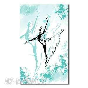 obraz xxl baletnica 9 -70x120cm na płótnie tancerka, obraz