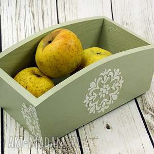 handmade pudełka drewniany pojemnik home sweet (dr21)