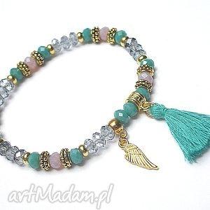 hand-made bransoletki kolekcja rich boho - turquoise/14 .03.17/