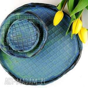 ceramika zestaw ceramiczny, patera, miska, dekoracje, talerz, zestaw