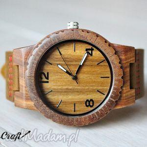 Drewniany zegarek falcon zegarki ekocraft zegarek, drewniany