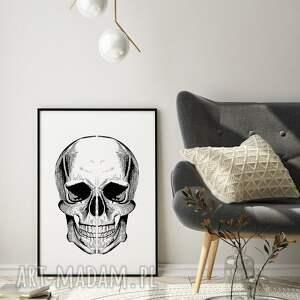 pod choinkę prezent, plakaty plakat czaszka 40x50 cm, czaszka