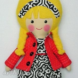 lalki malowana lala andżela, lalka, zabawka, pzytulanka, prezent, niespodzianka