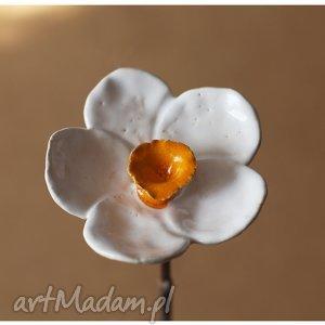 Ceramika wylegarnia pomyslow narcyz, kwiat,