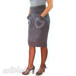 różne kolory spódnicy z okrągłymi kieszeniami, spódnica, spódniczka,