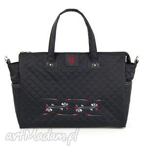 torebka podróżna love travel 387, podróże, haft, pikowana, chabry torebki