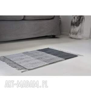 dywanik łazienkowy, chodnik bawełniany, ze sznurka bawełnianego, z frędzlami