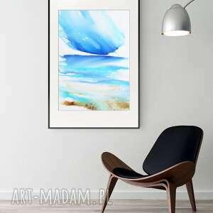 obraz ręcznie malowany 50 x 70 cm, nowoczesna abstrakcja, 2795336