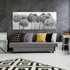 obraz drukowany na płótnie kwiaty hortensji ogrodowej w odcieniach