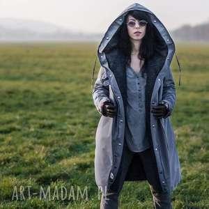 ręcznie robione kurtki kurtka zimowa z podpinką