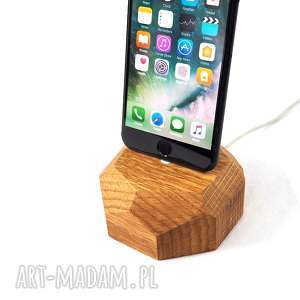 hand-made stacja do telefonu - iphone dock