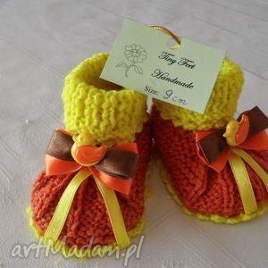 buciki niemowlęce - kaczuszki, buciki, kapciuszki, dziecięce