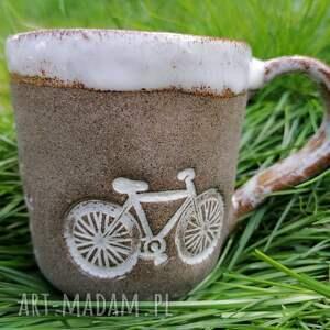 ceramika kubek nie tylko dla rowerzystów 2, rękodzieło, z gliny